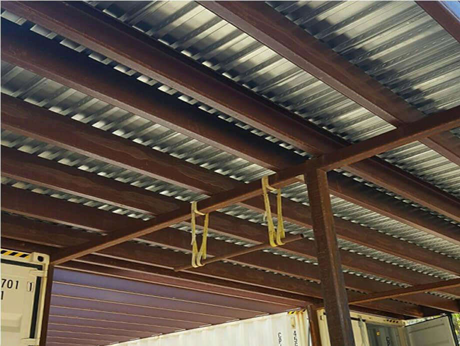 Metal Decking Panels ~ Composite b decking plantersville texas ez metal